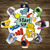 People and Startup Business Concepts — Stock Photo