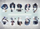 Gente de negocios trabajando — Foto de Stock