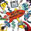 People Discussing Digital Marketing — Stock Photo #60117499