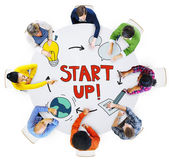 People and Startup Busines Concepts — 图库照片