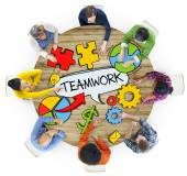 People and Teamwork Concepts — Stock Photo