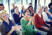 Group of People in Seminar — Stock Photo