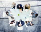 Business team Brainstorming — Stock Photo
