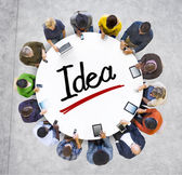 People and Idea Concept — Stock Photo