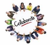 People with Collaborate Concept — Stock Photo