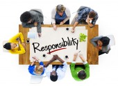 People and Responsibility Concept — Stock Photo