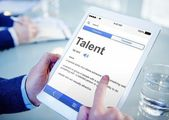 Man Searching for Meaning of Talent — Foto de Stock