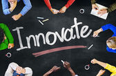 People and Innovate Concept — Stock Photo