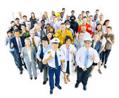 Group People with different Occupation — Stock Photo