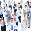 Large Group of Business People Communication — Stock Photo #63027749