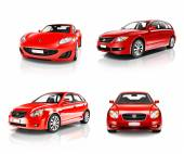 Luxury Red Sport Cars — Stock Photo