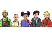 Children with Professional Occupation Concepts — Stock Photo