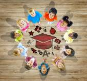 Group of Children with Education Concept — Stock Photo