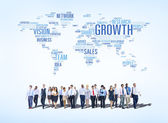 Business Concepts All Around The World — Stock Photo