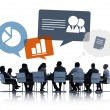 Business People Discussing Business Issues — Stock Photo #63036819