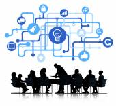 Business People in Meeting — Stock Photo