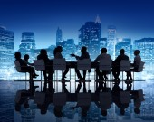 Business People Meeting — Stock Photo