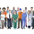 Group of Diverse Mixed Occupation People — Stock Photo #63044685