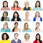 Diverse Multi-ethnic Women — Stock Photo