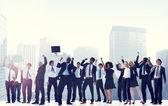 Business People Celebration Success — Stock Photo