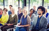 Diverse People Listening — Stock Photo