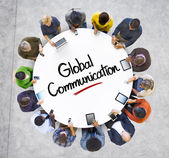 People and Global Communications Concept — Stock Photo