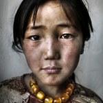 Mongolian Girl Portrait — Stock Photo #63119159