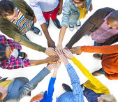 Multiethnic People Teamwork — Stock Photo