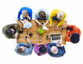 People and Social Networking Concepts — Stock Photo