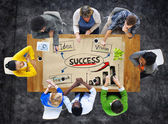 People in Meeting and Success Concepts — Stock fotografie