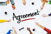 People and Agreement Concept — Stockfoto