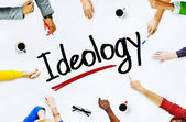 People and Ideology Concept — Stock Photo