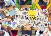 """Διαφορετικων Ανθρωπων """"brainstorming — Φωτογραφία Αρχείου"""