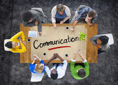 People with Communication Concept — Stock Photo