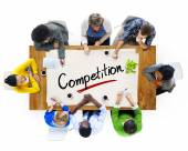 People with Competition Concept — Stock Photo