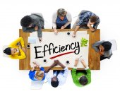 People Discussing About Efficiency — Stock Photo