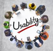 People and Usability Concepts — Stock Photo