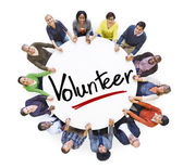 People Around the word Volunteer — Stock Photo