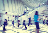Business People Rush Hour Concept — Stockfoto