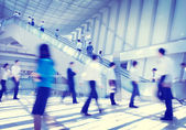 Business People Rush Hour Concept — Stock Photo