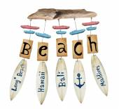Beach wind chime — Stock Photo