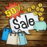 Sale Discount Promotion Price Concept — Stock Photo #71529969