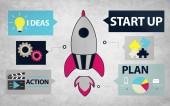 Opstarten innovatieconcept — Stockfoto