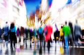 Business People in Rush Hour Walking — Stock Photo