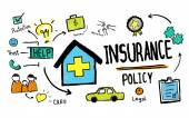 Insurance Protective Concept — Stock Photo
