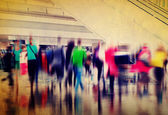 People Shopping in shopping center — Stock Photo