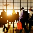 Airport Commuters Concept — Stock Photo #71572331