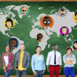 People Global Community  Networking  Concept — Stock Photo #71574089