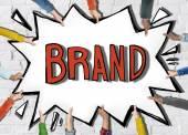 Brand Marketing Concept — Stock Photo