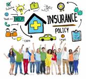 Insurance Policy Concept — Stock Photo